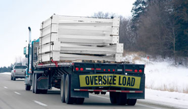Permit for Over sized Loads
